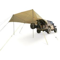 Slumberjack Roadhouse Tarp Shelter-Tan-One Size
