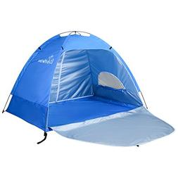 WolfWise Sun Shelter Tent Instant Easy Pop Up Beach Umbrella