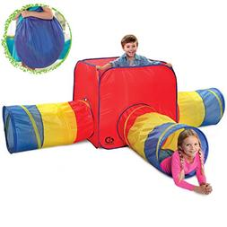 Discovery Kids 4-Piece Adventure Dome Play Tent W/ 3 Removea