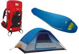 Alpinizmo High Peak USA Stratos 40 Pack+Magadi 5 Tent & Summ