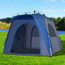 Outsunny Automatic Camping Tent 2 3 4 5 Person Backpacking D