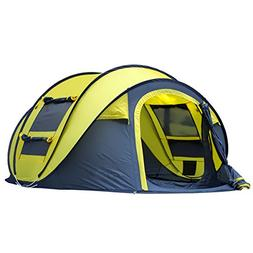 Qisan Automatic Outdoor Pop-up Tent for Camping Waterproof Q
