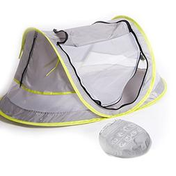 Baby Travel Bed, Portable baby beach tent UPF 50+ Sun Shelte