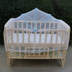 Baby Infant Portable Folding Travel Bed Crib Canopy Mosquito