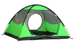 YGSDKJ Backpacking Light 2 Person Tent Color Green