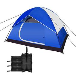 Backpacking Tents Outdoor Sports Tent with 4-Pack Sunshade S