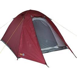 High Peak Outdoors BaseCamp 4 Person 4-Season Expedition-Qua