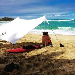 Neso Beach Tent with Sand Anchor, Portable Canopy for Shade