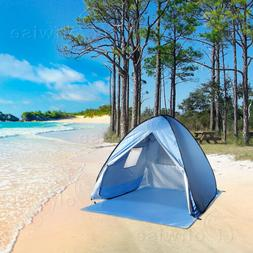 WolfWise Beach Tent Easy Pop Up Durable Instant Sun Shelter