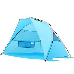 SEMOO Beach Tent Sun Protection Shade Shelter Lightweight Wa