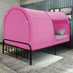 Alvantor Bed Tent Canopy Pink Color Pop Up Bed Tent