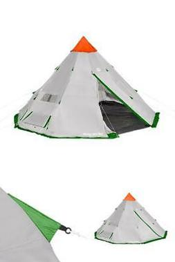 Tahoe Gear Bighorn XL 18 x 18 Feet 12 Person Teepee Cone Sha
