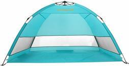 Alvantor Beach Tent Blueshore Beach Umbrella Outdoor Sun She