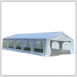 DELTA Canopies Budget PVC Party Tent Canopy Shelter 32'x20'