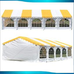 DELTA Canopies Budget PVC Wedding Party Tent Canopy Shelter