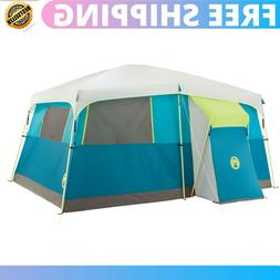 Cabin Tent camping Outdoor With Closet Room Divider Hinged D