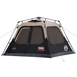 Coleman Cabin Tent with Instant Setup for Camping Sets Up in