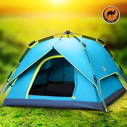 LightInTheBox CAMEL 3-4 persons Tent Double Camping Tent One