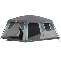 Camp In Style And Comfort Roomy 2-Room Layout GRAY/BLUE Ozar