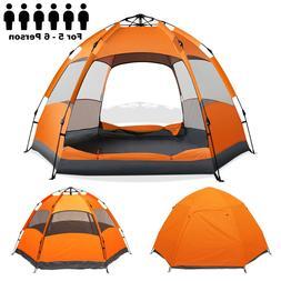 Camping Beach Tent 60-Second Pop-Up Setup Waterproof UV Prot