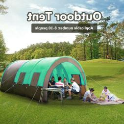 Camping Instant Family Cabin 2 Room & Hall Large Sealed 10 p