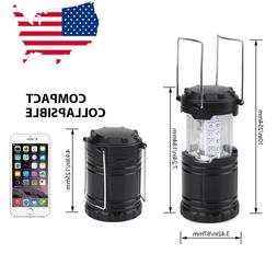 Camping Lanterns Collapsible 30 LED Lights Outdoor Tent Lamp
