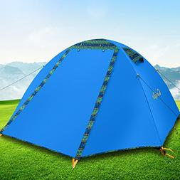Campla Camping Tent 2 Person 3-4 Season Backpacking Tent Wat