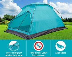 Alvantor Camping Tent Outdoor Light Weight Family Dome Tent