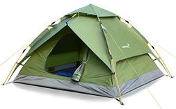 Camping Tent 3-4 Person Sportneer Automatic Instant Pop Up W