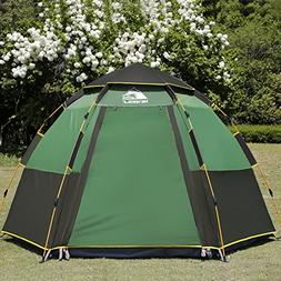 Hewolf 1789 C&ing Tents 2-4 Person Wa. & Family Tents | Tentsi.com