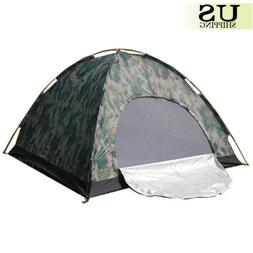 Camping Waterproof Outdoor 2 Person  Folding Tent Camouflage