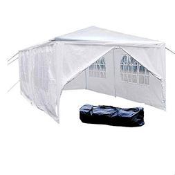 VINGLI 10' x 20' Outdoor Canopy Wedding Party Tent w/6 Remov