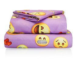 Fabugears Chital Emoji Sheet Set - Kids' Sheets - Includes