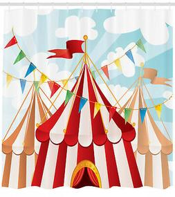 Circus Tents and Flags Decoration Clown Cartoon Home Decor S
