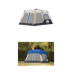 Coleman Instant 8 Person Tent, Blue, 14x10-Feet with Coleman