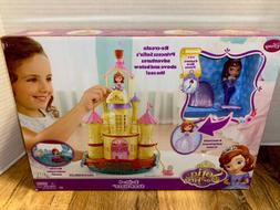 COMPLETE -EUC -Sofia the First 2-in-1 Sea Palace Castle Merm