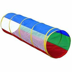 Hide N Side Kids 6ft Crawl Through Play Tunnel Toy, Pop up T