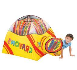 Crayon Play Tent Tunnel  Playhut Kids Indoor Outdoor Playhou