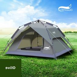 Desert&Fox Automatic <font><b>Tent</b></font> 3-4 Person <fo