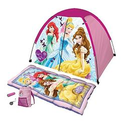 Disney Princess 5 Piece Camp Kit with Sleeping Bag and Tent