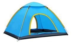 YGSDKJ Dome Mountaineering 6 Person Tent Color Blue