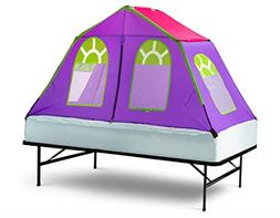GigaTent Dream House Bed Tent Purple Twin