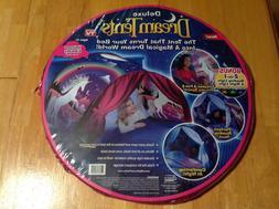 Dream Tents Pop Up Twin Bed Tent Unicorn Fantasy NEW