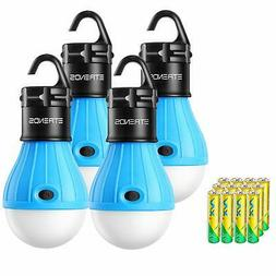 E-TRENDS 2 Pack/4 Pack Compact LED Lantern Tent Camp Light B