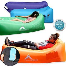 RNS Direct  Easy Inflate Blow Up Couch Inflatable Air Lounge