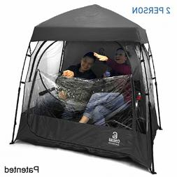 EasyGO EGP-CAP-002-BLACK CoverU Sports Shelter – 2 Person