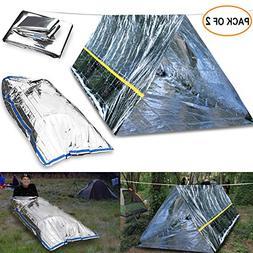 EMDMAK Emergency Mylar Thermal Survival Tent,Sleeping Bag Su