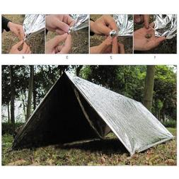 Outdoor Emergency Tent Blanket Sleeping Bag Survival Reflect