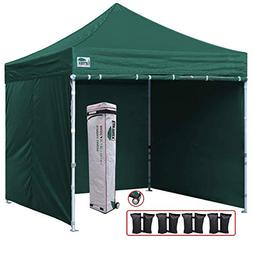 Eurmax 10'x10' Ez Pop-up Canopy Tent Commercial Instant Tent