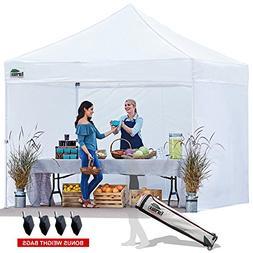 Eurmax 10x10 Ez Pop up Commercial Outdoor Canopy Instant Ten